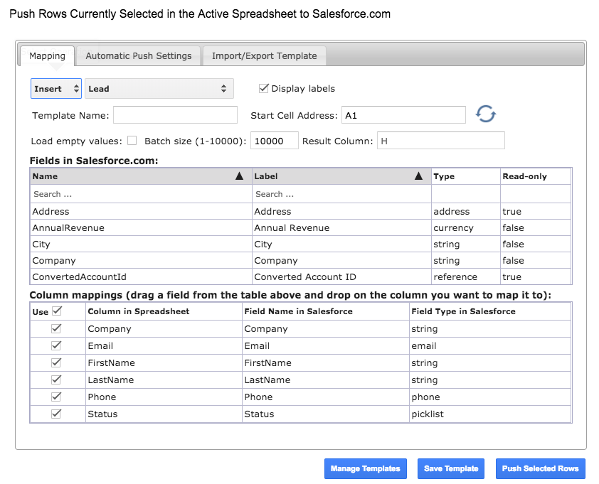 Creating New Records in Salesforce Using G-Connector – Xappex